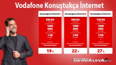 Vodafone Konuştukça İnternet