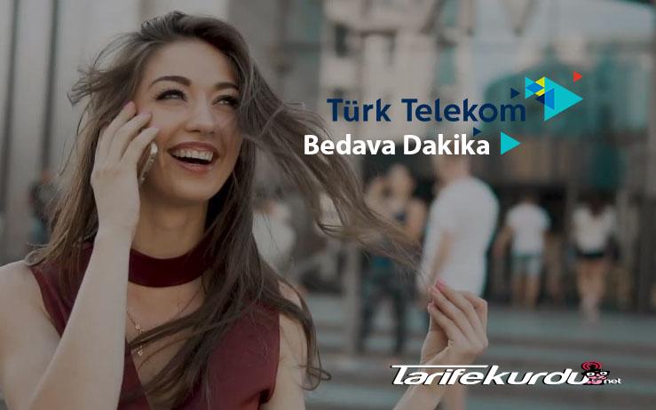 Türk Telekom Bedava Dakika Kazanma