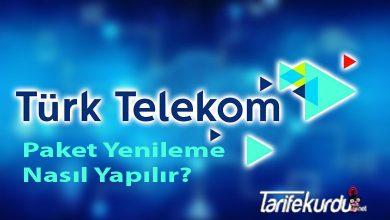 Turk Telekom Paket Yenileme
