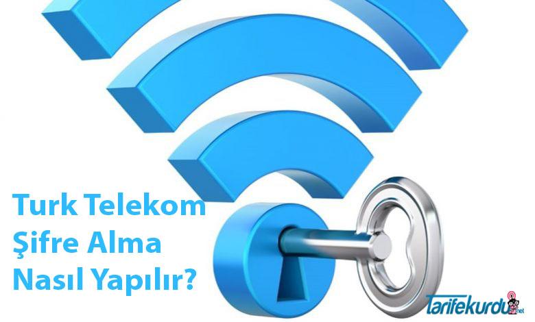 Turk Telekom Şifre Alma