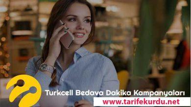 Turkcell Bedava Dakika