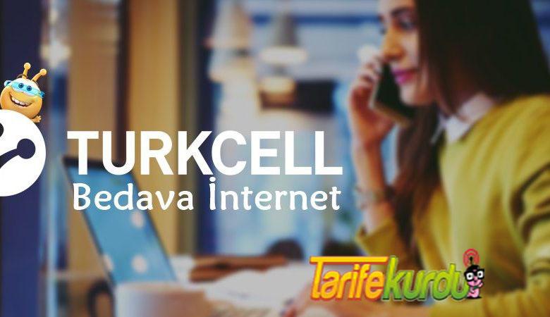 Turkcell Bedava İntenet Kazanma
