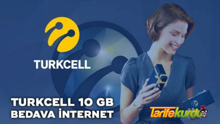 Turkcell Hediye 10 GB