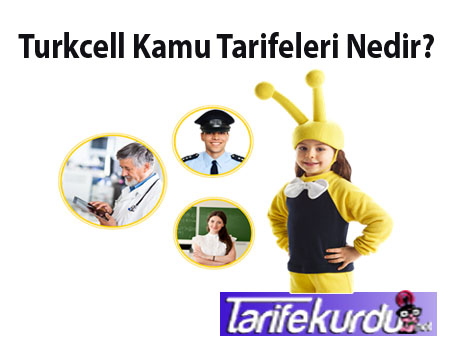 Turkcell Kamu Tarifeleri