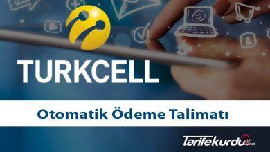Turkcell Otomatik Ödeme Talimatı
