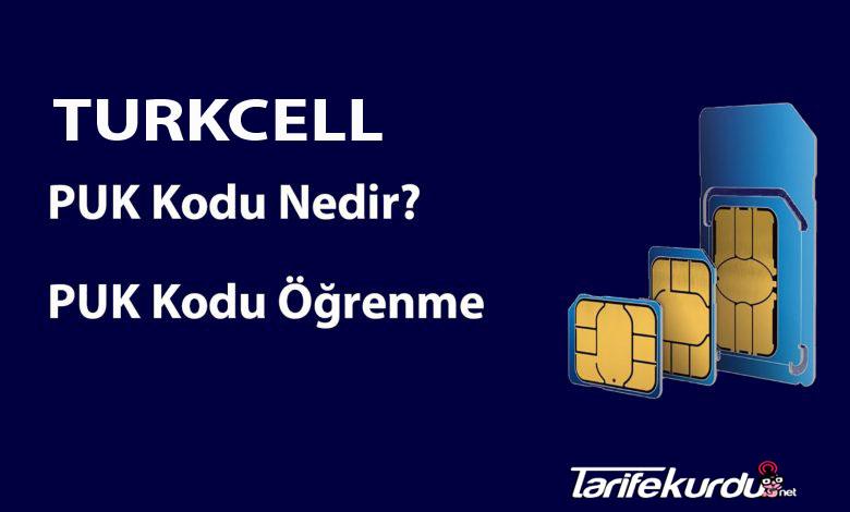 Turkcell Puk Kodu Öğrenme