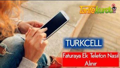 Turkcell Taahhütlü Telefon