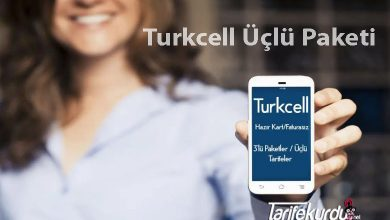Turkcell üçlü Paketi
