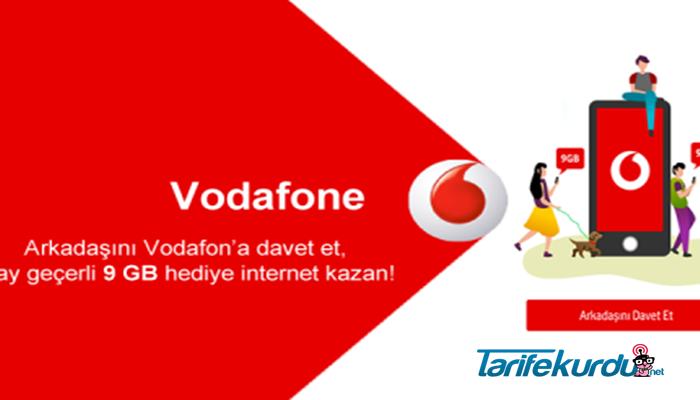 Vodafone Arkadaşını Davet Et Kampanyası