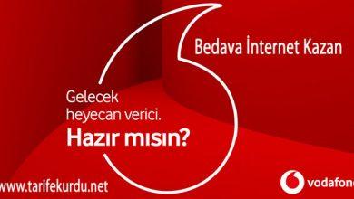 Vodafone-Bedava-İnternet-Kazanman