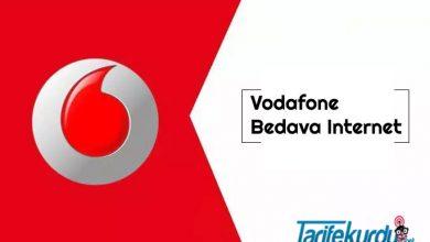 Vodafone Bedava İnternet Kazanma