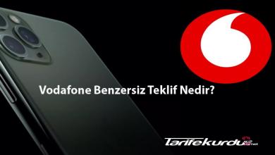 Vodafone Benzersiz Teklif