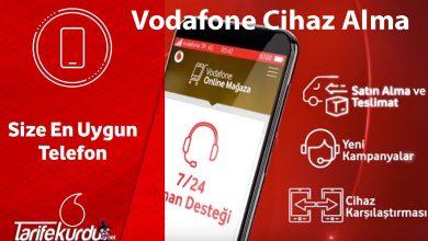 Vodafone Cihaz Alma