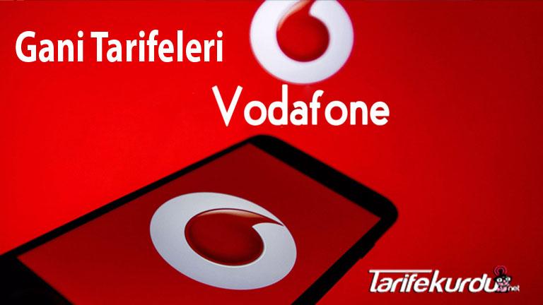 Vodafone Gani Tarifeleri