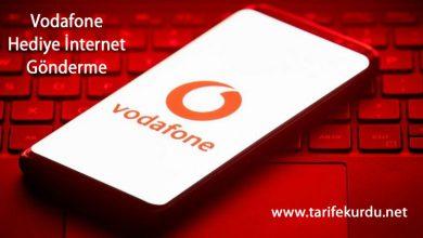 Vodafone-Hediye-İnternet-Gönderme
