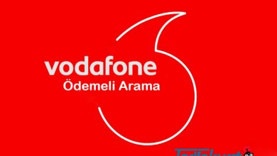 Vodafone Ödemeli Arama