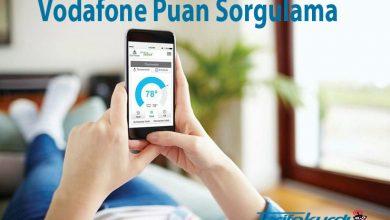 Vodafone Puan Sorgulama