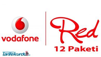 Vodafone Redli 12 Paketi