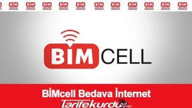 Bimcell Bedava İnternet