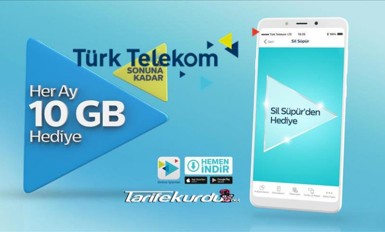 Türk Telekom 10GB İnternet