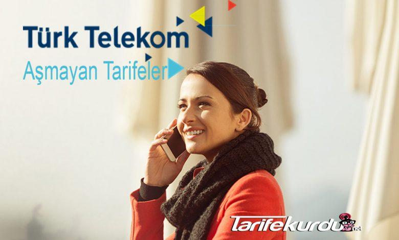 Türk Telekom Aşmayan Tarifeler