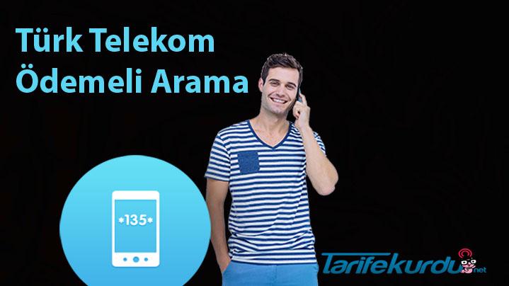 Türk Telekom Ödemeli Arama