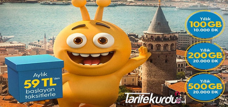 Turkcell Yıllık Paket