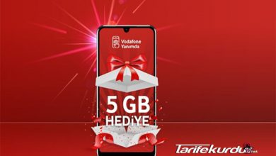 Vodafone 20 GB İnternet