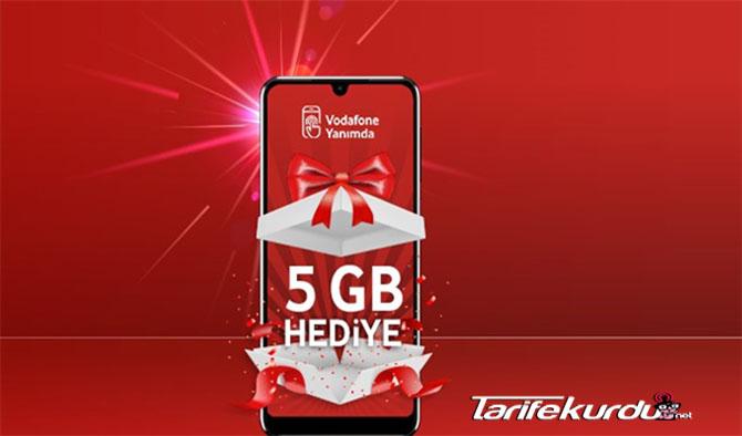 Vodafone 20 GB İnternet