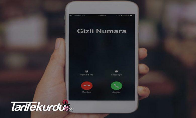 Vodafone Gizli Numara