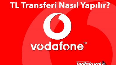 Vodafone TL Transferi