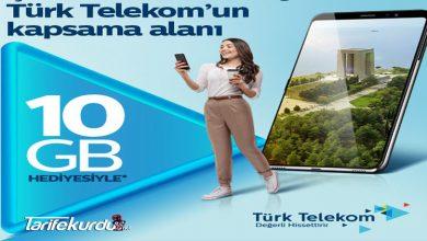 Türk Telekom 10GB Bedava İnternet Kampanyası