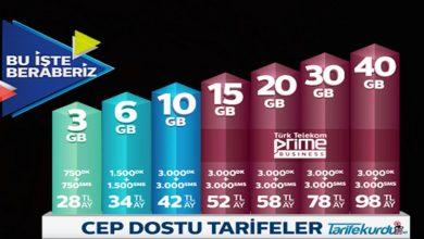 Türk Telekom Cep Dostu Tarifesi