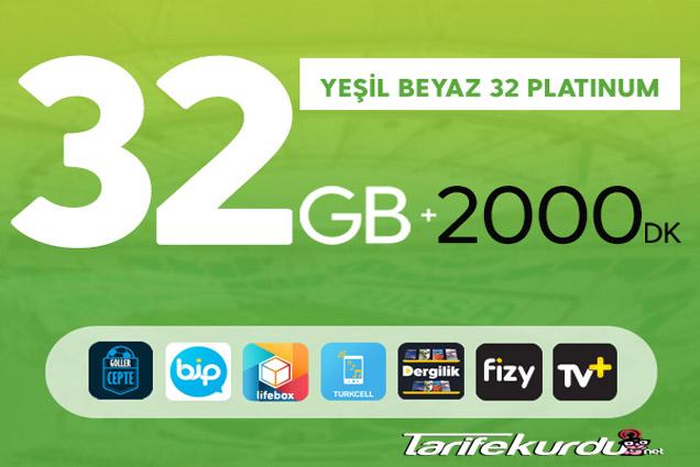 Turkcell Yeşil Beyaz Paket