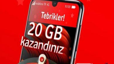 Vodafone 20GB Bedava İnternet
