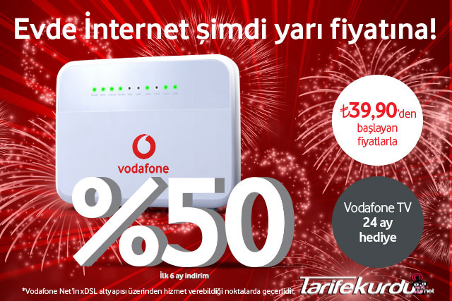 Vodafone Evde İnternet