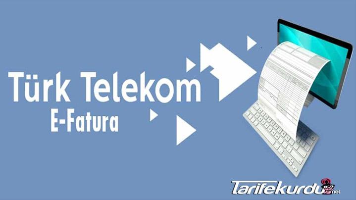Türk Telekom E-Fatura Sorgulama Ve Öğrenme