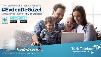 Türk Telekom Evde İnternet İptali