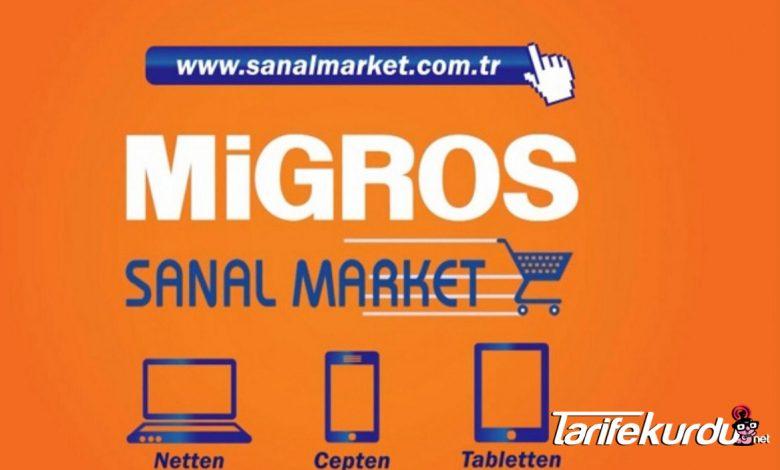 Migros Sanal Market Sipariş İptal Etme