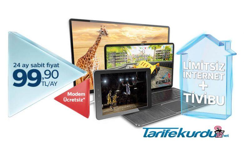 Türk Telekom Tivibu İnternet Paketler ve İptal İşlemleri