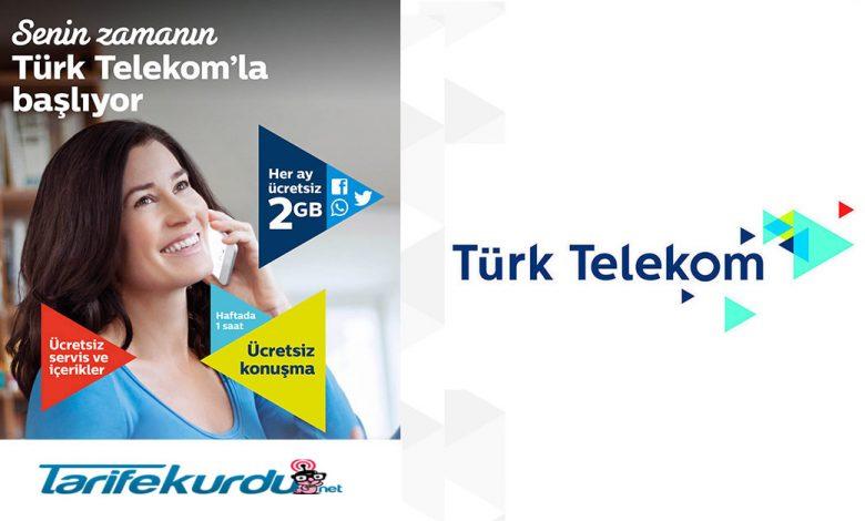 Turk Telekom Bedava İnternet