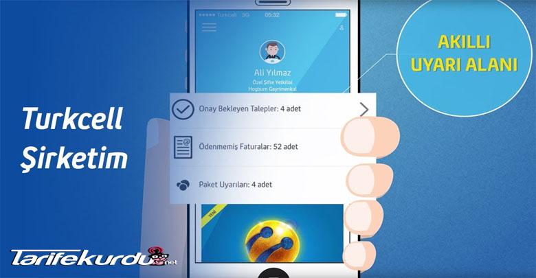 Turkcell Şirketim Aylık 4 GB Hediye Kampanyası