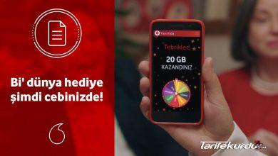 Vodafone Bedava İnternet Kazanma Yolları